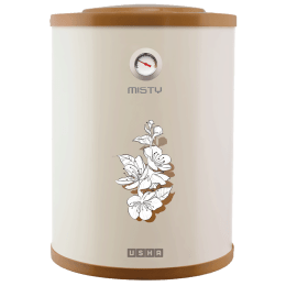 Usha Misty 15 Litres Vertical Storage Water Geyser (Ivory/Gold)_1