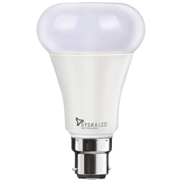 Syska Electric Powered 9 Watt Smart LED Bulb (SSKSMWP9WCCTC, White)_1
