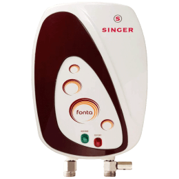 Singer 3 Litres Instant Water Geyser (3000 Watts, Fonta, White)_1