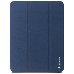 Neopack Trifold Smart Delta PU Flip Cover for Apple iPad 10.2 Inch (50BLA10, Navy Blue)_1