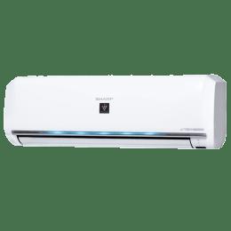 Sharp 1 Ton 5 Star Inverter Split AC (Copper Condenser, AH-XP12WHT, White)_1