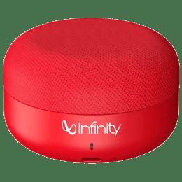 Infinity Clubz Portable Bluetooth Speaker (Mini, Red)_1