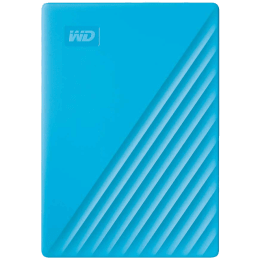 Western Digital My Passport 2TB USB 3.2 Hard Disk Drive (WDBYVG0020BBL-WESN, Blue)_1