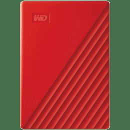 Western Digital My Passport 4TB USB 3.2 Hard Disk Drive (WDBPKJ0040BRD-WESN, Red)_1
