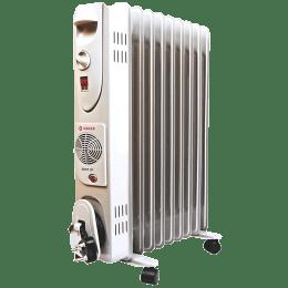 SINGER 2600 Watt Oil Filled Room Heater (OFR 9 Fins, White)_1