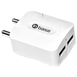 Inbase 2.1 Amp Car Charging Adapter (CAR, Black)_1