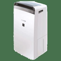 Sharp Air Purifier with Dehumidifier (DW-J20FM-W, White)_1