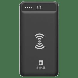 Inbase 8000 mAh Wireless Power Bank (CHARGING, Black)_1