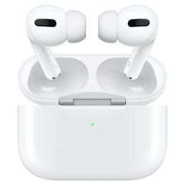 Apple Airpods Pro In-Ear Truly Wireless Earbuds with Mic (Bluetooth 5.0, with Wireless Charging Case, MWP22HN/A, White)_1