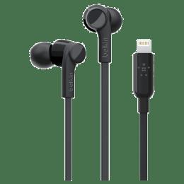 Belkin Rockstar In-Ear Wired Earphones with Mic (G3H0001bt, Black)_1