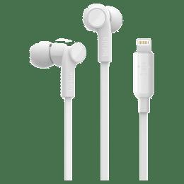 Belkin Rockstar In-Ear Wired Earphones with Mic (G3H0001bt, White)_1