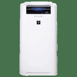 Sharp Portable Air Purifier & Humidifier (KC-G40M-W, White)_1