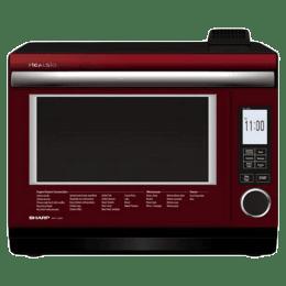 Sharp Healsio 31 Litres Inverter Superheated Steam Oven (AX-1600V-R, Red)_1