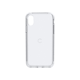 Cygnett Orbit Polycarbonate Back Case Cover for Apple iPhone X (CY2259CPORB, Crystal)_1
