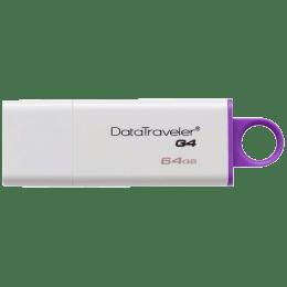 Kingston Data Traveler G4 USB 3.1 Gen 1 64 GB Flash Drive (DTIG4/64GBIN, Purple)_1