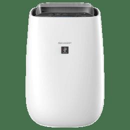 Sharp Plasma Cluster Technology Air Purifier (Silent Mode, FP-J40M-W, White)_1