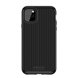 Stuffcool Pine Polycarbonate Hard Back Case Cover for Apple iPhone 11 Pro Max (PINEIP1165-BLK, Black)_1