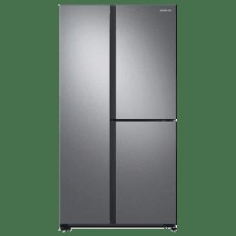 Samsung 634 Litres Side-by-Side Door Digital Inverter Refrigerator (RS73R5561SL/TL, Silver)_1