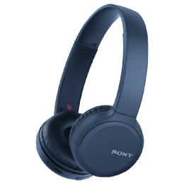 Sony Bluetooth Headphones (WH-CH510, Blue)_1