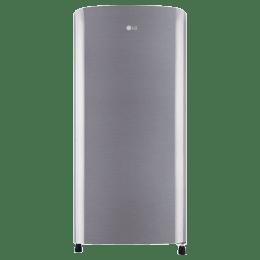 LG 190 L 2 Star Direct Cool Single Door Refrigerator (GL-B201RPZC.APZZEB, Shiny Steel)_1