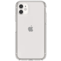 OtterBox Symmetry Polycarbonate Back Case Cover for Apple iPhone 11 (77-62474, Transparent)_1