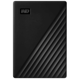 Western Digital My Passport 1TB USB 3.2 Hard Disk Drive (WDBYVG0010BBK-WESN, Black)_1