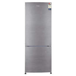 Haier 320 Litres 3 Star Frost Free Inverter Double Door Refrigerator (Bottom Mount, 1 Hour Icing Technology, HRB-3404BS-E, Brushline Silver)_1