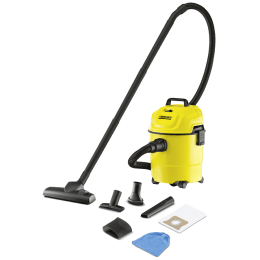 Karcher WD 1 1000 Watts Wet & Dry Vacuum Cleaner (15 Litres Tank, Yellow)_1