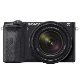 Sony Digital SLR Camera Body with 18-135 mm mm Zoom Lens (ILCE-6600M, Black)_1