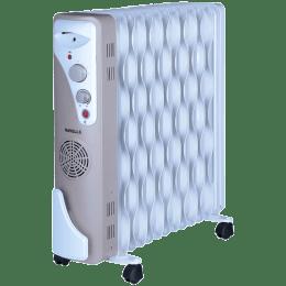 Havells OFR 13 2900 Watt Wave Fins Oil Filled Room Heater (GHROFAFC290, White)_1