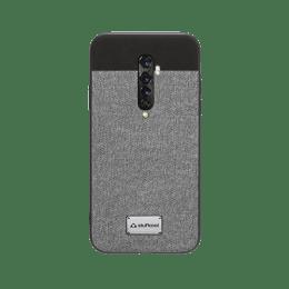 Stuffcool Bon Leather Back Case Cover for Oppo Reno 2 (BONOPRN2-GRY, Grey)_1