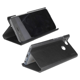 Stuffcool 19.81 cm (7.8 inch) Flipit Wallet Type Flip Leather Case Cover for Oppo A9 (FLPTOPA920-BLK, Black)_1