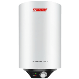 Spherehot Cylendro MGL I 25 Litres Storage Water Geyser (2000 Watts, SWCI008, White)_1