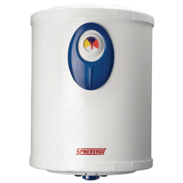 Spherehot Cylendro PGL DLX 10 Litres Storage Water Geyser (2000 Watts, SWCP001, White)_1