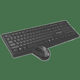 Lapcare Wireless Keyboard & Mouse Combo (Bluetooth 4.1, L901, Black)_1