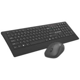 Lapcare 1200 DPI Smartoo Wireless Keyboard & Mouse Combo (L999, Black)_1
