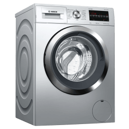 Bosch 8 kg Fully Automatic Front Loading Washing Machine (WAT2846SIN, Silver)_1