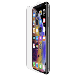 Belkin ScreenForce Tempered Glass Screen Protector for Apple iPhone XS Max (F8W911zz, Transparent)_1