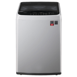 LG 6.5 kg Fully Automatic Top Loading Washing Machine (T7588NDDLE.ASFPEIL, Silver)_1