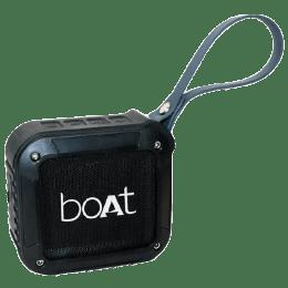 Boat Bluetooth Speaker (Stone 210, Black)_1