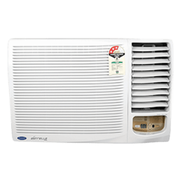 Carrier 2 Ton 3 Star Window AC (Estrella Neo CAW24EN3R39F0, Copper Condenser, White)_1