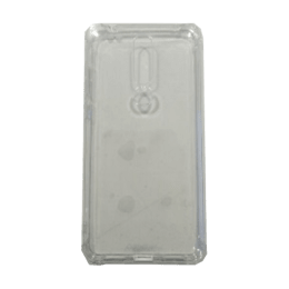 Stuffcool Jelo Silicone Soft Back Case Cover for Nokia 7.1 (JELONK7-CLR, Clear)_1