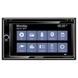 Blaupunkt 15.74 cm Touch Screen Display Car Audio System (Las Palmas 550, Black)_1