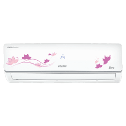 Voltas 1.5 Ton 5 Star Inverter Split AC (Floral R32 185V ADS, Copper Condenser, White)_1