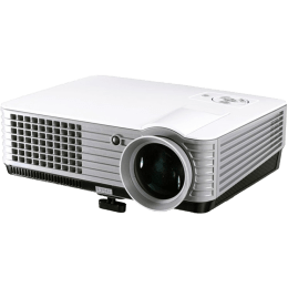 Miracle Digital Aplha Beam Pro Projector (ALPHA2PROJECTOR, White)_1