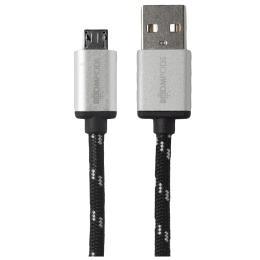 Boompods Retro USB (Type-A) to Micro USB Cable (BP-RCMR2M-BLK, Black)_1