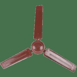 Singer Aerostar Solo 120cm Sweep 3 Blade Ceiling Fan (High Speed 390 RPM, SCF 120 AST, Brown)_1