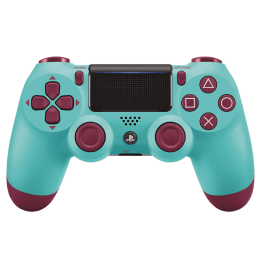 Sony Controller for PS4 (CUH-ZCT2E15, Berry Blue)_1