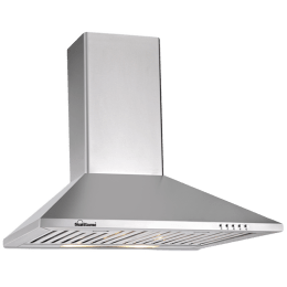 Sunflame Eva 700 m3/hr 60cm Wall Mount Chimney (Push Button Controls, 8178, Silver)_1