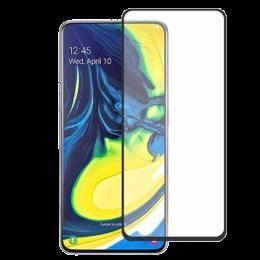 Stuffcool 2.5D Screen Protector for Samsung Galaxy A80 (MGGP25DSGA80, Black)_1